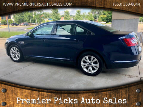 2012 Ford Taurus for sale at Premier Picks Auto Sales in Bettendorf IA
