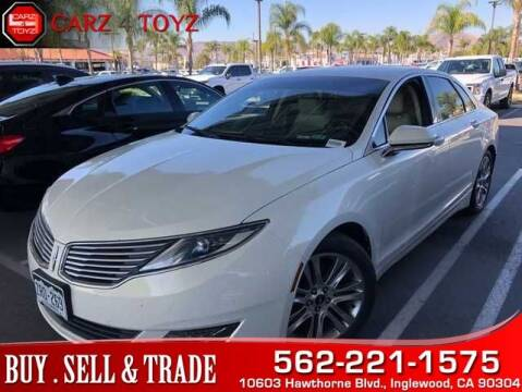 2013 Lincoln MKZ for sale at Carz 4 Toyz in Inglewood CA