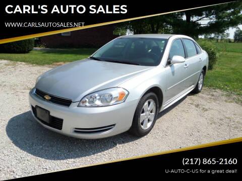 2009 Chevrolet Impala for sale at CARL'S AUTO SALES in Boody IL