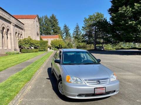 2001 Honda Civic for sale at EZ Deals Auto in Seattle WA