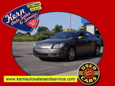 2011 Chevrolet Malibu for sale at Kern Auto Sales & Service LLC in Chelsea MI