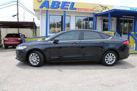 2017 Ford Fusion for sale at Abel Motors, Inc. in Conroe TX