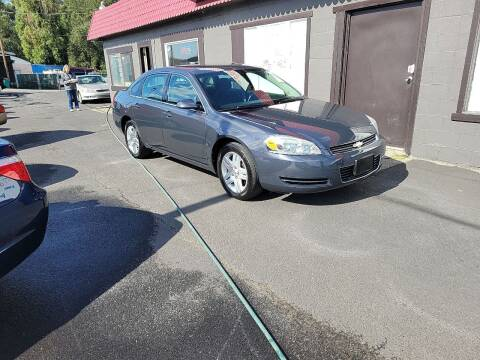 2008 Chevrolet Impala for sale at Bonney Lake Used Cars in Puyallup WA
