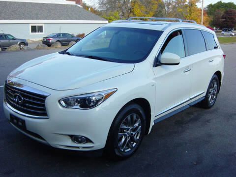 2015 Infiniti QX60 for sale at North South Motorcars in Seabrook NH
