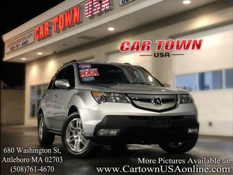 2008 Acura MDX for sale at Car Town USA in Attleboro MA