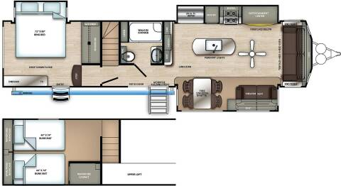 2021 Forest River SAT399LOFT for sale at Frontier Auto & RV Sales in Anchorage AK