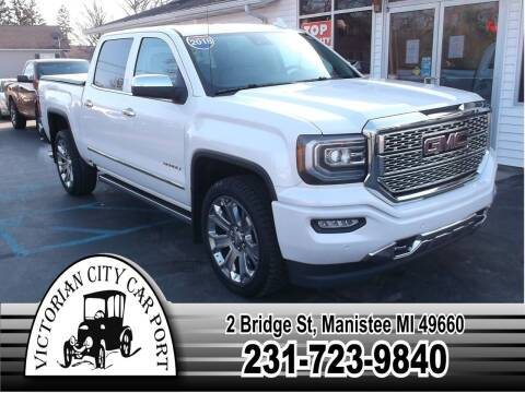 2018 GMC Sierra 1500 for sale at Victorian City Car Port INC in Manistee MI