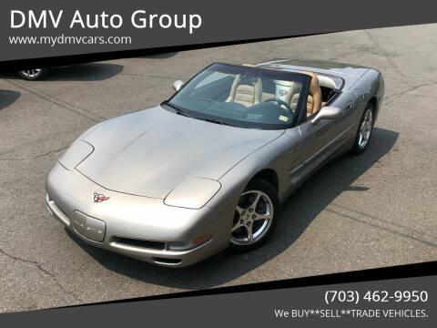 2002 Chevrolet Corvette for sale at DMV Auto Group in Falls Church VA