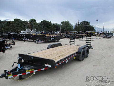 2022 Big Tex Equipment 14ET-20BK-KR for sale at Rondo Truck & Trailer in Sycamore IL