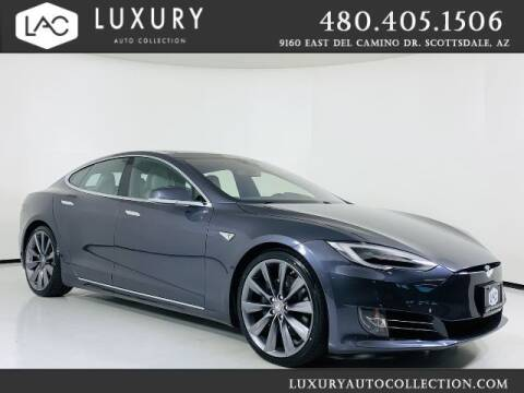 2016 Tesla Model S for sale at Luxury Auto Collection in Scottsdale AZ
