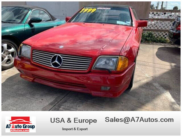 1991 Mercedes-Benz 300-Class for sale at A7 AUTO SALES in Holly Hill FL