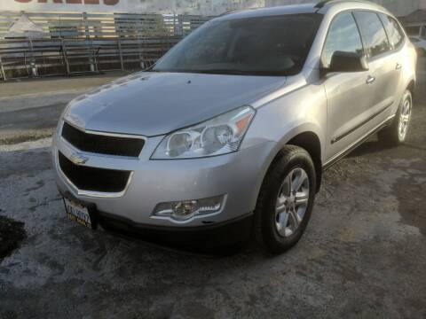 2010 Chevrolet Traverse for sale at Best Deal Auto Sales in Stockton CA