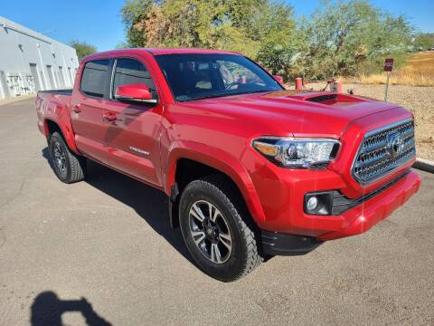 2017 Toyota Tacoma for sale at NEW UNION FLEET SERVICES LLC in Goodyear AZ
