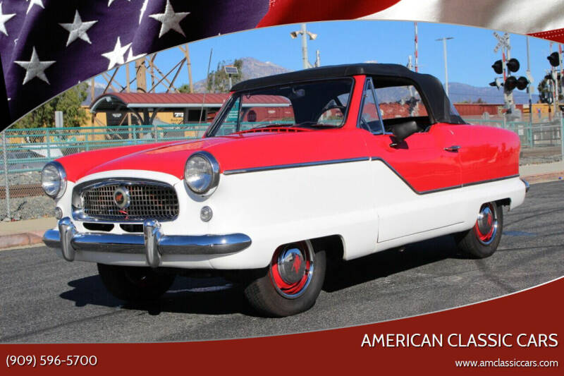1960 Nash Metropolitan for sale at American Classic Cars in La Verne CA