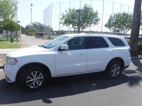 2014 Dodge Durango for sale at J & E Auto Sales in Phoenix AZ