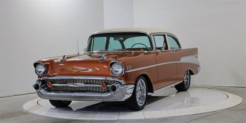 1957 Chevrolet Bel Air for sale at Mershon's World Of Cars Inc in Springfield OH