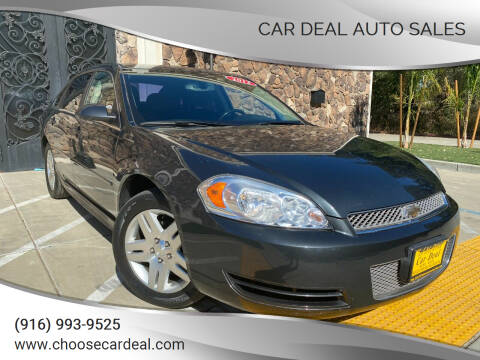 2012 Chevrolet Impala for sale at Car Deal Auto Sales in Sacramento CA