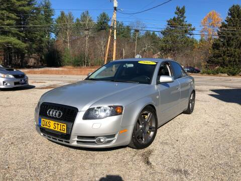 2007 Audi A4 for sale at Hornes Auto Sales LLC in Epping NH