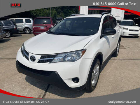 2014 Toyota RAV4 for sale at CRAIGE MOTOR CO in Durham NC
