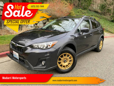2019 Subaru Crosstrek for sale at Mudarri Motorsports in Kirkland WA