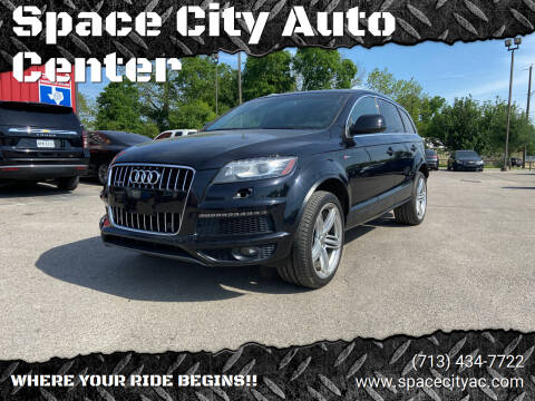 2014 Audi Q7 for sale at Space City Auto Center in Houston TX