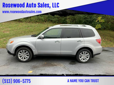 2011 Subaru Forester for sale at Rosewood Auto Sales, LLC in Hamilton OH