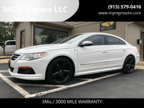2012 Volkswagen CC for sale at MGM Motors LLC in De Soto KS