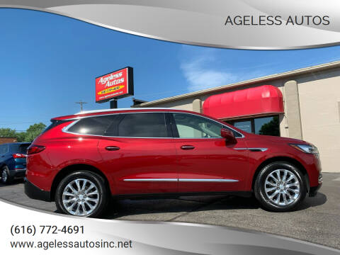 2018 Buick Enclave for sale at Ageless Autos in Zeeland MI