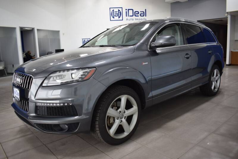 2014 Audi Q7 for sale at iDeal Auto Imports in Eden Prairie MN