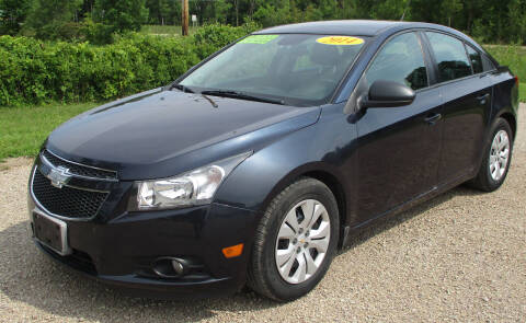 2014 Chevrolet Cruze for sale at LOT OF DEALS, LLC in Oconto Falls WI