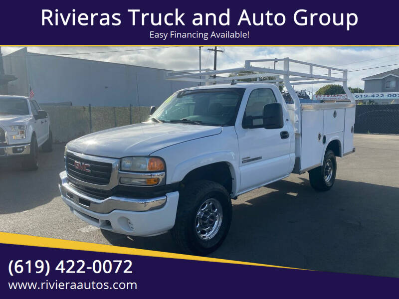 2006 GMC Sierra 2500HD for sale at Rivieras Truck and Auto Group in Chula Vista CA