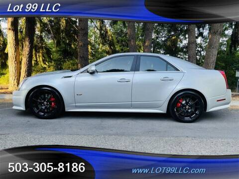 2013 Cadillac CTS-V for sale at LOT 99 LLC in Milwaukie OR