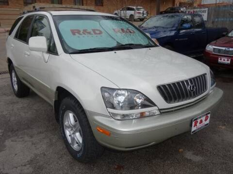 2000 Lexus RX 300 for sale at R & D Motors in Austin TX