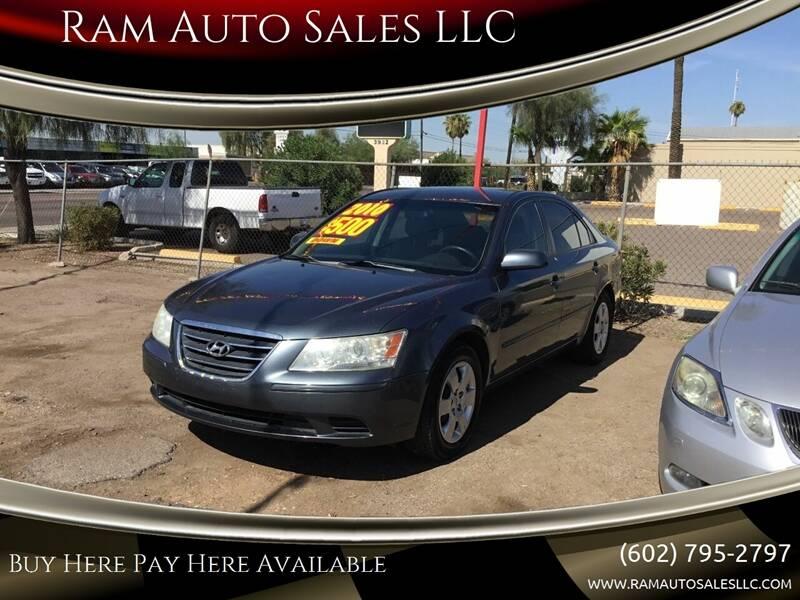 2010 Hyundai Sonata for sale at Ram Auto Sales LLC in Phoenix AZ