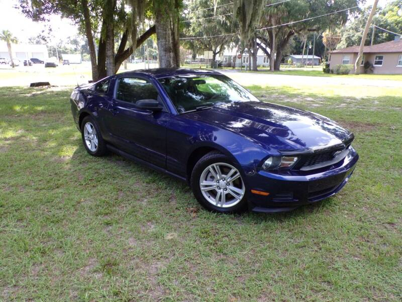 2011 Ford Mustang for sale at LANCASTER'S AUTO SALES INC in Fruitland Park FL