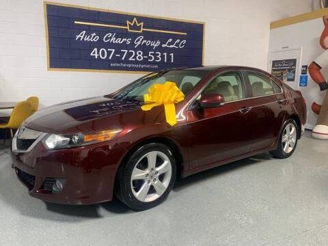 2010 Acura TSX for sale at Auto Chars Group LLC in Orlando FL