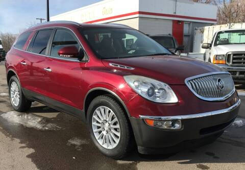 2011 Buick Enclave for sale at Central City Auto West in Lewistown MT