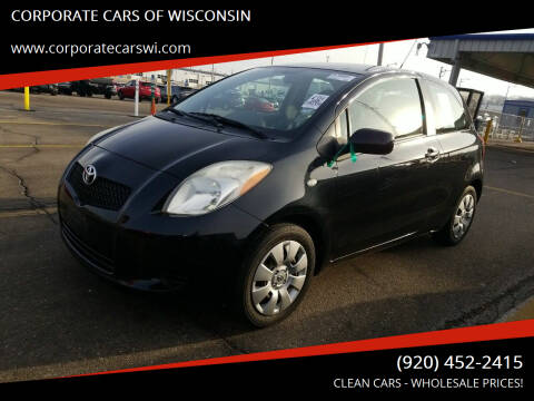 2008 Toyota Yaris for sale at CORPORATE CARS OF WISCONSIN - DAVES AUTO SALES OF SHEBOYGAN in Sheboygan WI