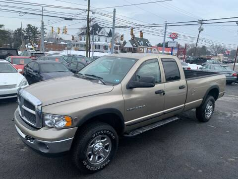 2003 Dodge Ram Pickup 2500 for sale at Masic Motors, Inc. in Harrisburg PA