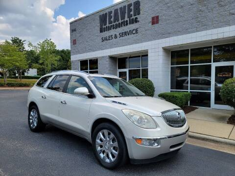 2010 Buick Enclave for sale at Weaver Motorsports Inc in Cary NC