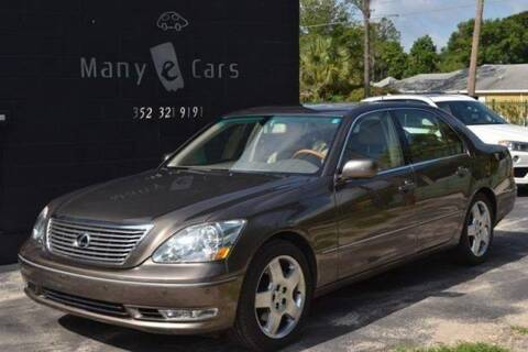 2006 Lexus LS 430 for sale at ManyEcars.com in Mount Dora FL