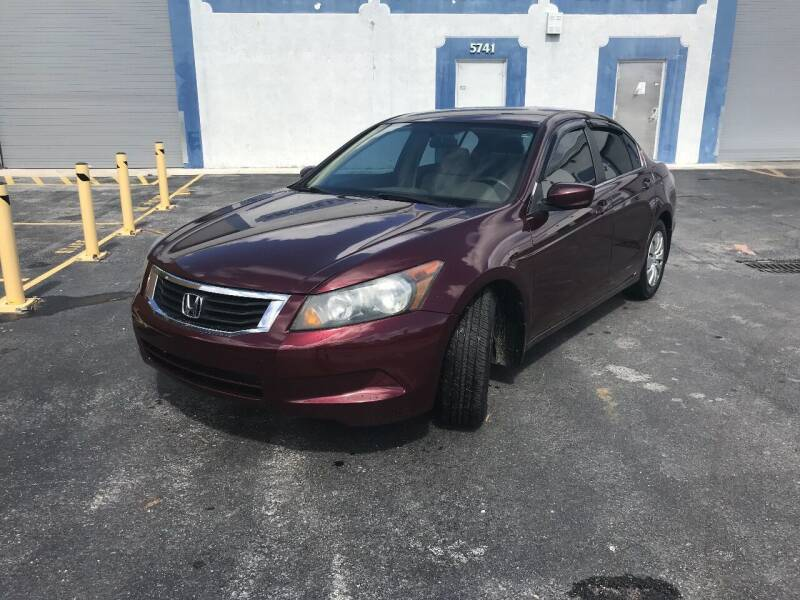 2009 Honda Accord for sale at Best Auto Deal N Drive in Hollywood FL