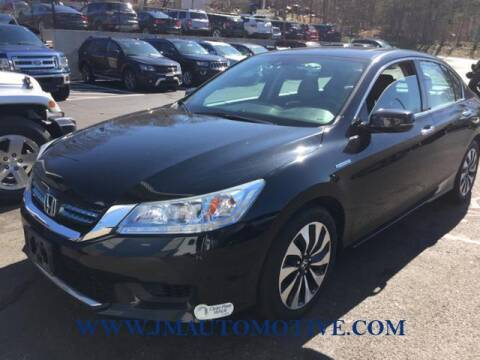 2015 Honda Accord Hybrid for sale at J & M Automotive in Naugatuck CT