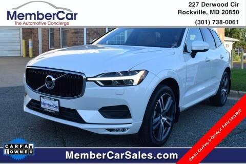 2020 Volvo XC60 for sale at MemberCar in Rockville MD