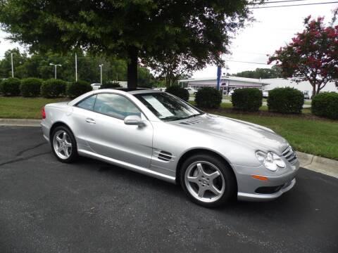 2003 Mercedes-Benz SL-Class for sale at Carolina Classics & More in Thomasville NC