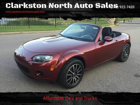 2008 Mazda MX-5 Miata for sale at Clarkston North Auto Sales in Clarkston MI