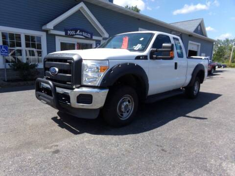 2011 Ford F-250 Super Duty for sale at Pool Auto Sales Inc in Spencerport NY