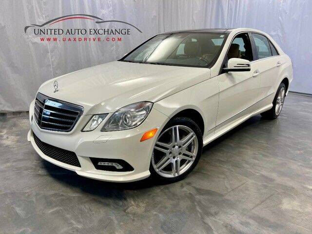 2010 Mercedes-Benz E-Class for sale at United Auto Exchange in Addison IL