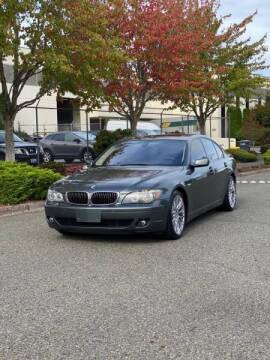 2008 BMW 7 Series for sale at Washington Auto Sales in Tacoma WA
