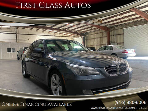 2008 BMW 5 Series for sale at Car Source Center in West Sacramento CA